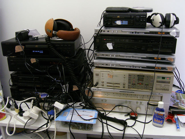 Installation audio test