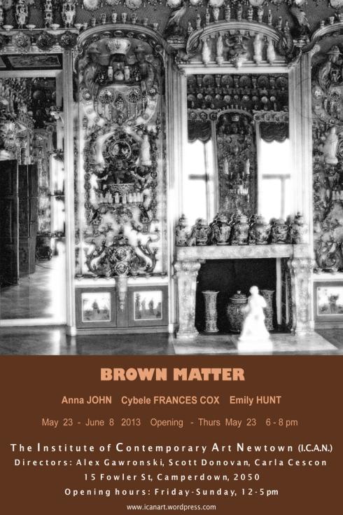 Brown Matter evite