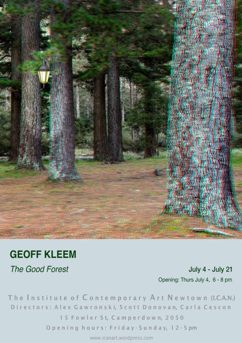 Geoff Kleem ICAN evite